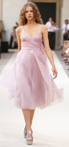 pink-whimsical-bridesmaid-dress - Once Wed Whimsical Bridesmaids Dresses, Lavender Bridesmaid Dresses, Frock And Frill, High Fashion Dresses, Prom Looks, Prom Dresses, Summer Dresses, Elegant Outfit, Pink Dress