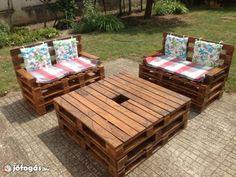 Minőségi raklap kerti bútor