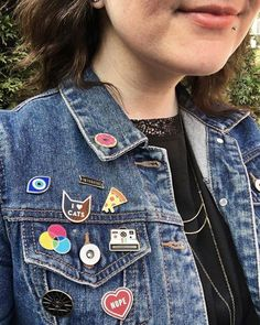 All the cute pins! Check it out!