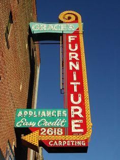 Grace's Furniture in Logan Square - Chicago. Photo by: Pixeljones