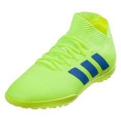 official photos 4e45e 4451f adidas Nemeziz Tango 18.3 TF Junior Soccer Shoes Solar Yellow Blue Red-10.5k