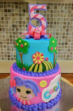 Really cute #children's #birthday #party #cake!