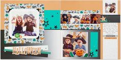 We have a treat for you today—a free scrapbook pattern to help you celebrate and preserve all of those bewitchingly fun Halloween memories! This pattern originally debuted with our Perfect Day pape…