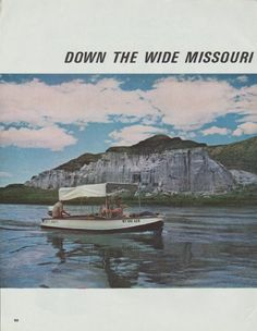 "Description: 1965 THOMAS HART BENTON vintage magazine article ""Down The Wide Missouri"" -- Down The Wide Missouri With 'An Old S.O.B.' ... By Robert Wernick ... Photographs by Ted Polumbaum -- Size: The dimensions of each page of the six-page article are approximately 10.5 inches x 13.5 inches (26.75 cm x 34.25 cm). Condition: This original vintage six-page article is in Excellent Condition unless otherwise noted."