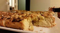 Veganer Apfel-Walnuß Kuchen mit Zimt
