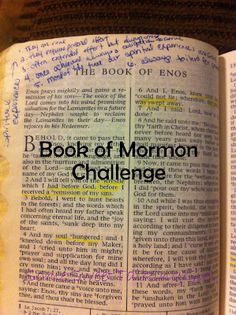 Book of Mormon- LDS Young Women Activity