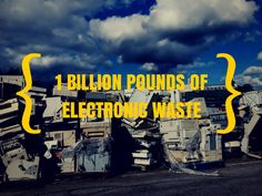 Techie retail giant Best Buy celebrates the collection of 1 billion pounds of electronic waste through its free in-store drop-off program. #electronicwaste #ewaste #bestbuy #recycling