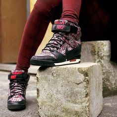 Nike wedge liberty sneakers #nike #sneakers