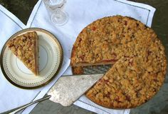 Delectably Mine: Sour Cherry Coffee Cake