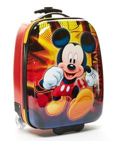 Look what I found on #zulily! Red Mickey Mouse Pilot Case #zulilyfinds
