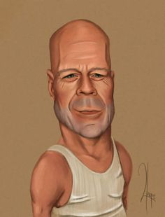Bruce Willis  **Be careful if you go to this link, there seems to be a lot of ads that are inappropriate**