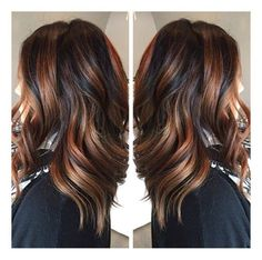Tortoise Shell! A blend of soft highlights paired with dark and rich toned, cascading into lighter tones!