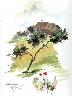 """""""Dans un conte alsacien , un poirier et un prunier demandent tour à tour à une…"""