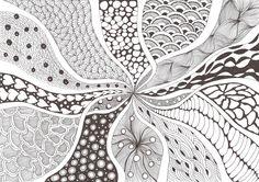 Zentangle made by Mariska den Boer 94
