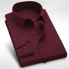 Long Sleeve Shirt Men 2017 Autumn New Fashion Designer High Quality Solid Shirt Non Iron Slim Fit Business Shirts Formal 4XL X00