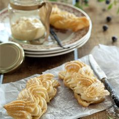 Croissants, Tapas, Pasta Choux, Muffins, Cupcakes, Sweet Pastries, Cookies, Relleno, Frosting