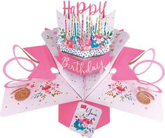 happy birthday cake and candles pop-up greeting card - greeting card PNG image with transparent background png - Free PNG Images Birthday Card Pop Up, Birthday Cake Pops, Birthday Table, Happy Birthday Cakes, Special Birthday, Pop Up Greeting Cards, Pop Up Cards, Paper Engineering, 3d Cards