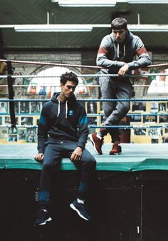 Reebok Classic 2015 Fall/Winter Menswear Collection  Sportswear by the masters.
