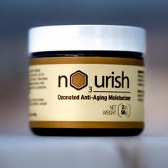 """""""Last time my skin felt like this was after a 30-day detox in Thailand,"""" one customer told us about NO3URISH.  There is no magic involved, just a synchronistic formulation with nature's most potent skin healing agents.   (1) Jojoba oil is almost identical to your skin's natural oils, so it's easy to absorb and doesn't clog pores. By infusing it with (2) ozone, it becomes an oxygen-rich moisturizer. Then we mix (3) nutrient-dense bee pollen, which nourishes cells and tissues and prevents…"""