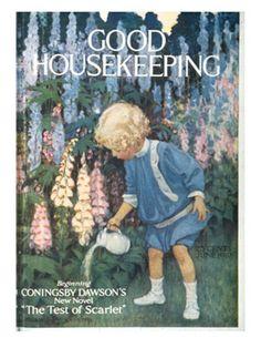 <i>Good Housekeeping</i> Covers: 1910-1919