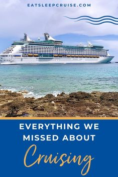 All the Little Things We Missed About Cruising - We are cruising again! This momentous occasion makes us so much more appreciative of all the little things we missed about cruising! Cruise Checklist, Packing List For Cruise, Cruise Tips, Cruise Travel, Cruise Vacation, Royal Caribbean International, Royal Caribbean Cruise, Liberty Of The Seas, Cruise Reviews