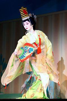 Tsuneyu: Priestess A geiko of Gion Higashi, dancing as a Shinto priestess for a plentiful harvest of rice in early spring.