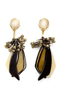 #Marni horn drop earrings