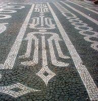 Sidewalk, Pavement Portuguese