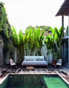 La casa di Jan Eleni Lemonedes a Bahia