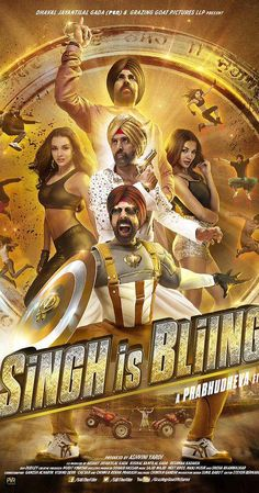 Directed by Prabhudheva.  With Akshay Kumar, Sunny Leone, Amy Jackson, Lara Dutta. Raftaar Singh (Akshay) spends his days whiling his time away dancing and jumping through fire hula-hoops at fairs in Bassi Pathana in Punjab. While his father (Yograj Singh) is tired of his ways, his mother (Rati Agnihotri) caters to his appetite with home-cooked jalebis, before the former asks Raftaar to choose a path for himself. Either get married to a certain Sweety, or move to Goa and work ...