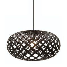 Fab.com | Sculptural Bamboo Pendant Lamps | David Trubridge