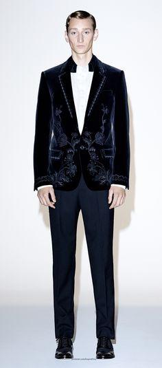 Alexander McQueen Menswear Pre Spring/Summer 2015 collection