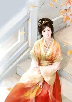 China Girl, Ancient Art, Chinese Art, Beautiful Paintings, Asian Art, Female Art, Art Girl, Fantasy Art, Beautiful Women