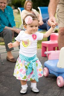 inspiration for a really cute 1st birthday outfit