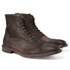 Best men's winter boots 2012: Alexander McQueen - GQ.COM (UK)