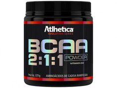 BCAA 2:1:1 Powder 225g - Atlhetica com as melhores condições você encontra no Magazine Tell. Confira!