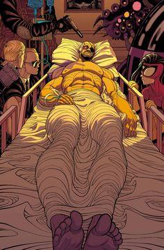 SECRET AVENGERS #11  ALES KOT (W) MICHAEL WALSH (A)  Cover by TRADD MOORE