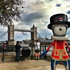 Tower Bridge, London.  2012 Olympics