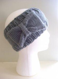 Cute knitted headband ear warmer