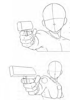 Positions pistolet