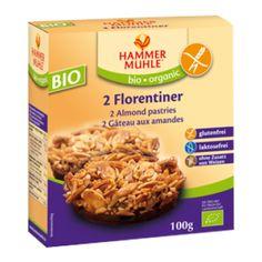 Βιολογικά Μπισκότα με Αμύγδαλα Florentiner 100gr Hammermuehle Free Products, Food, Metabolism, Almonds, Glutenfree, Chocolate, Foods, Amazing, Essen