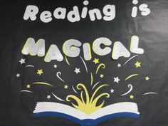 Reading-is-Magical-Bulletin-Board-Harry-Potter-1168488 Teaching ...