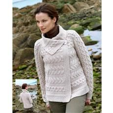 29 best womens irish sweaters images on pinterest irish sweaters snug with this friendly single button aran cardigan in the winter or in the summer air conditioning this unique irish aran cardigan is a modern take on fandeluxe Gallery