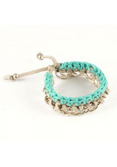 "Crochet ""Danube"" Bracelet"