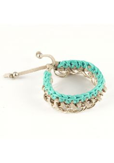 "Crochet ""Danube"" Bracelet by Andrea Bocchio Jewelry @76Hudson"