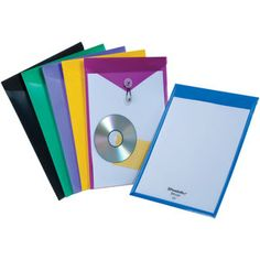 Love these Pendaflex® View Front® Poly Envelopes for highlighting special books in the classroom library.