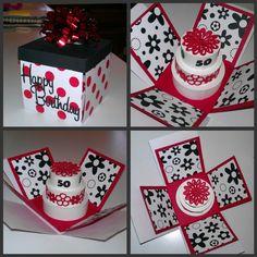50th Birthday Explosion Box