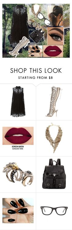 """""""OOTD: Wingshot"""" by the-art-of-an-empire ❤ liked on Polyvore featuring Dolce&Gabbana, Sophia Webster, Smashbox, BCBGMAXAZRIA, Roberto Cavalli, Proenza Schouler and Ray-Ban"""