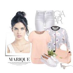Zestaw z 29 maj, składający się m.in. z Kurtka New Look Petite, T-shirt Triangle, Okulary damskie Le Specs.
