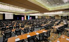 The Wyndham Lisle offers colorful and unique meeting space for any upcoming event!